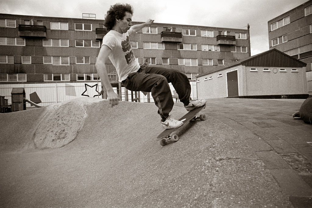 Steve frontside slide